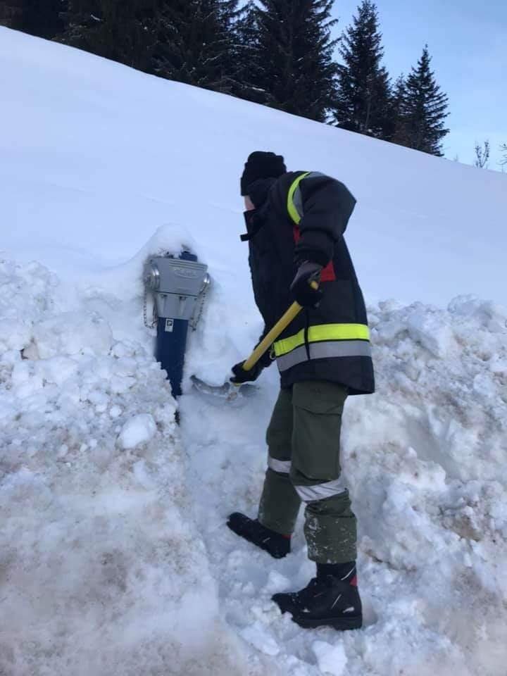 Eigenanforderung – Abgang Schneebrett